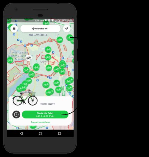 How to tretty? Ein überblick von der tretty app karte